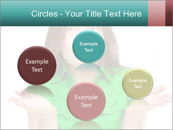 Shocked girl PowerPoint Template - Slide 77
