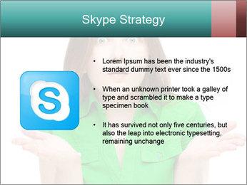Shocked girl PowerPoint Template - Slide 8