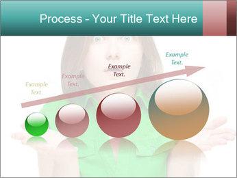 Shocked girl PowerPoint Template - Slide 87