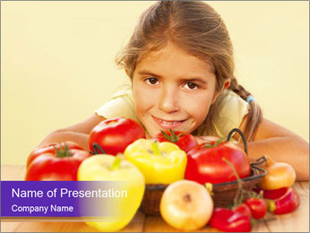 Child PowerPoint Template - Slide 1