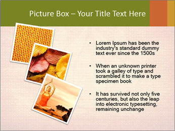 Texture with lotus flower PowerPoint Templates - Slide 17