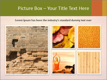 Texture with lotus flower PowerPoint Templates - Slide 19