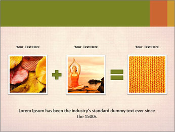 Texture with lotus flower PowerPoint Templates - Slide 22