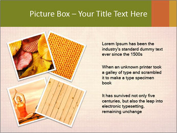 Texture with lotus flower PowerPoint Templates - Slide 23