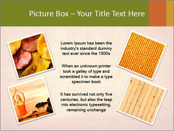 Texture with lotus flower PowerPoint Templates - Slide 24