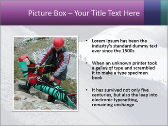 Snowy path PowerPoint Templates - Slide 13