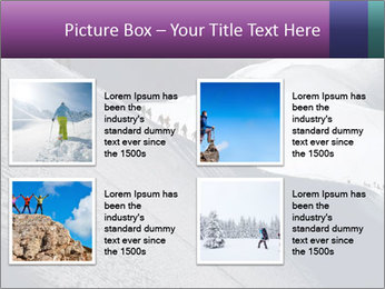 Snowy path PowerPoint Templates - Slide 14