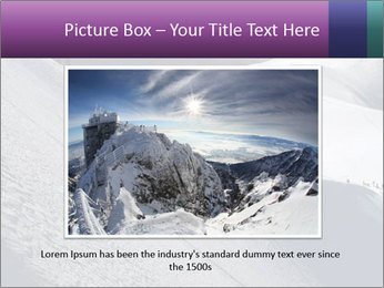 Snowy path PowerPoint Templates - Slide 16