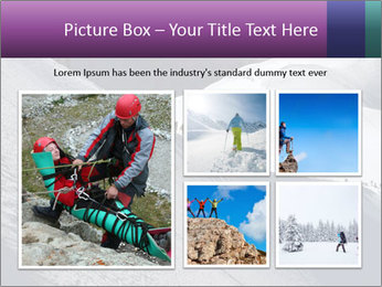 Snowy path PowerPoint Templates - Slide 19