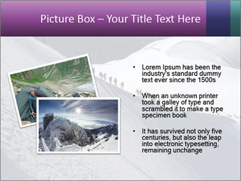 Snowy path PowerPoint Templates - Slide 20