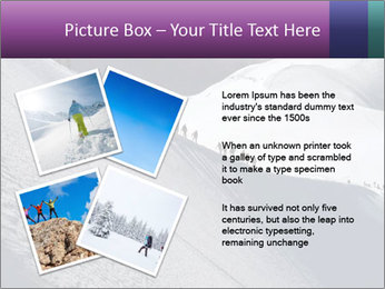 Snowy path PowerPoint Templates - Slide 23