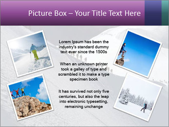 Snowy path PowerPoint Templates - Slide 24