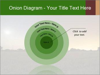Satellite dish at nigh PowerPoint Template - Slide 61