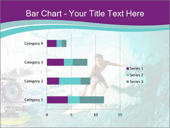 Surfer on Blue Ocean PowerPoint Templates - Slide 52
