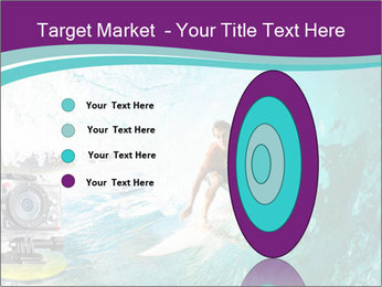Surfer on Blue Ocean PowerPoint Templates - Slide 84