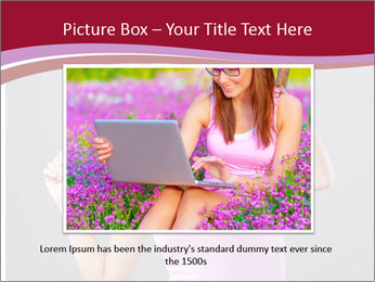 Happy girl PowerPoint Template - Slide 16