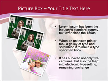 Happy girl PowerPoint Template - Slide 17