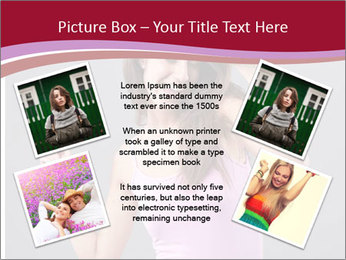 Happy girl PowerPoint Template - Slide 24