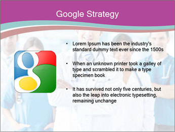 Doctor leading a team PowerPoint Template - Slide 10