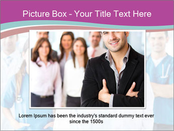 Doctor leading a team PowerPoint Template - Slide 15