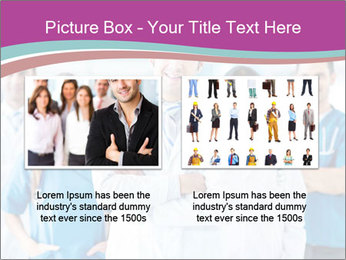 Doctor leading a team PowerPoint Template - Slide 18