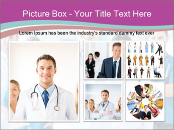 Doctor leading a team PowerPoint Template - Slide 19