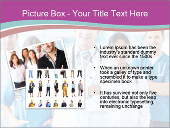 Doctor leading a team PowerPoint Template - Slide 20