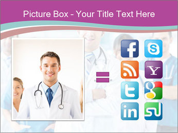 Doctor leading a team PowerPoint Template - Slide 21