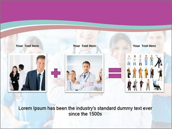 Doctor leading a team PowerPoint Template - Slide 22