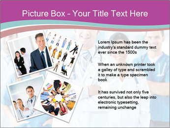 Doctor leading a team PowerPoint Template - Slide 23