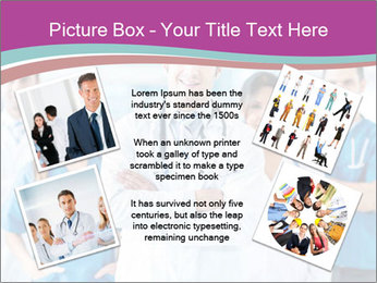 Doctor leading a team PowerPoint Template - Slide 24