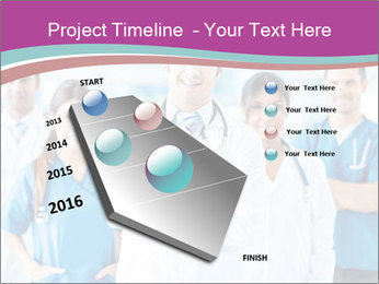 Doctor leading a team PowerPoint Template - Slide 26