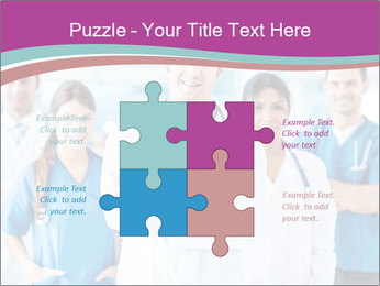 Doctor leading a team PowerPoint Template - Slide 43