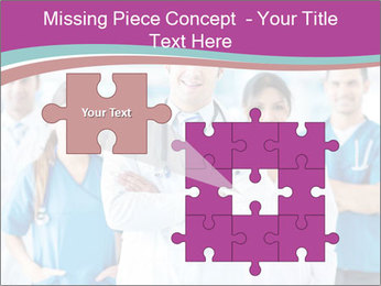 Doctor leading a team PowerPoint Template - Slide 45
