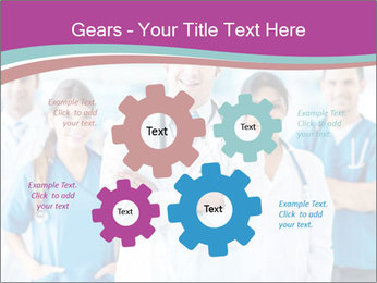 Doctor leading a team PowerPoint Template - Slide 47
