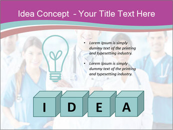 Doctor leading a team PowerPoint Template - Slide 80