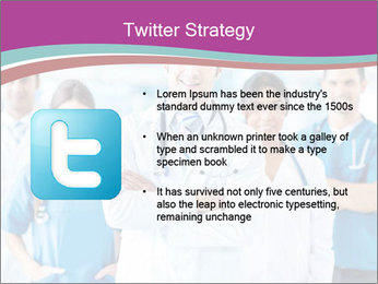 Doctor leading a team PowerPoint Template - Slide 9