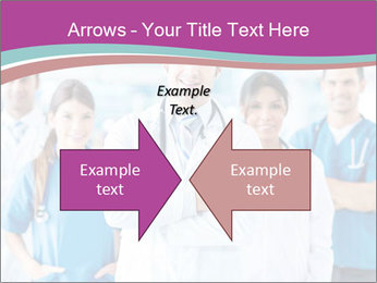 Doctor leading a team PowerPoint Template - Slide 90