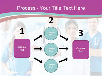 Doctor leading a team PowerPoint Template - Slide 92