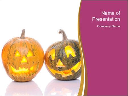 Halloween Pumpkin PowerPoint Templates