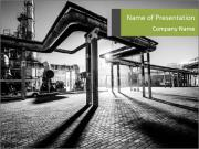 Chemical plant PowerPoint Templates