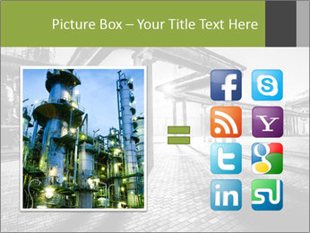 Chemical plant PowerPoint Templates - Slide 21