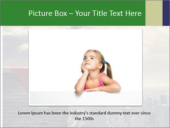 A young boy dreams PowerPoint Template - Slide 16