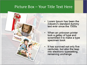 A young boy dreams PowerPoint Template - Slide 17