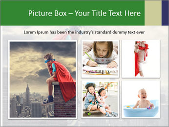 A young boy dreams PowerPoint Template - Slide 19