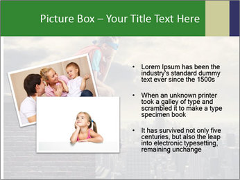 A young boy dreams PowerPoint Template - Slide 20