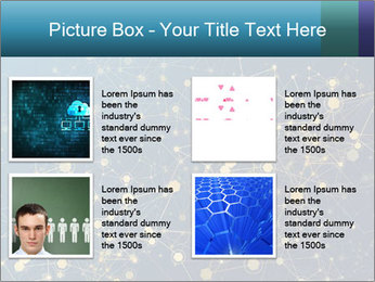 Molecule PowerPoint Templates - Slide 14