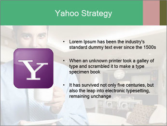 Young successful business PowerPoint Template - Slide 11