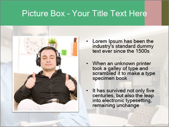 Young successful business PowerPoint Template - Slide 13