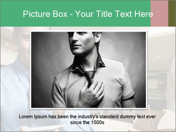 Young successful business PowerPoint Template - Slide 15